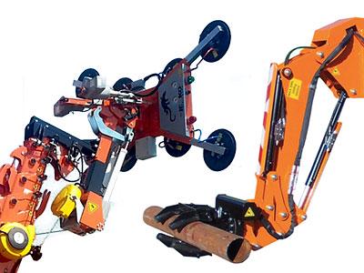 Hydraulisk Vakuum- og Klype-manipulatorer