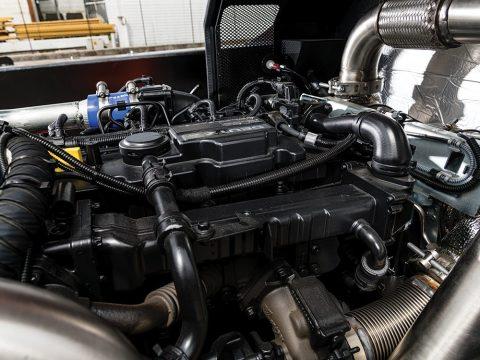 Elektronisk diesel motor