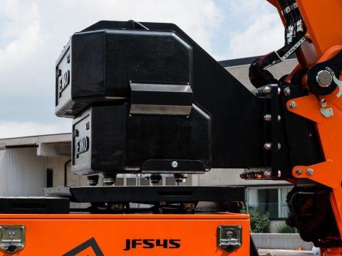 3,5 tonn motvekt