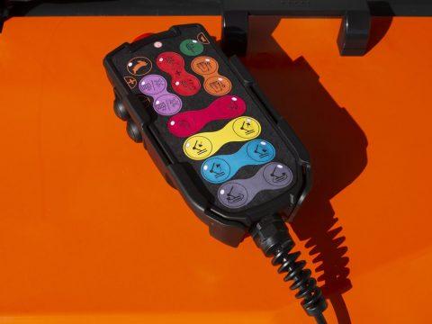 Fjerkontroll med kabel