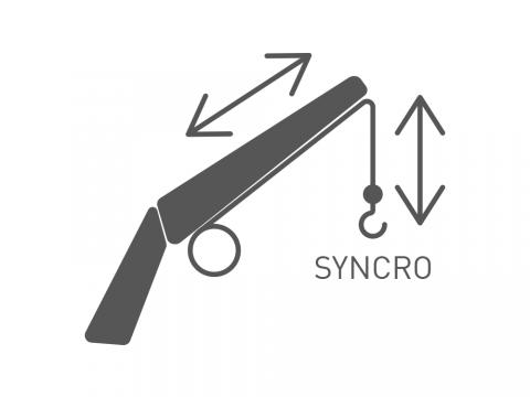 System for nivåregulering av kroken