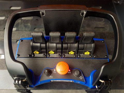 Radio fjernkontroll + 2 batterier
