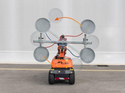 Kontinuerlig elektrisk rotasjon av manipulator