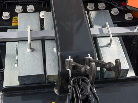 Avtagbar modulerbar motvekt