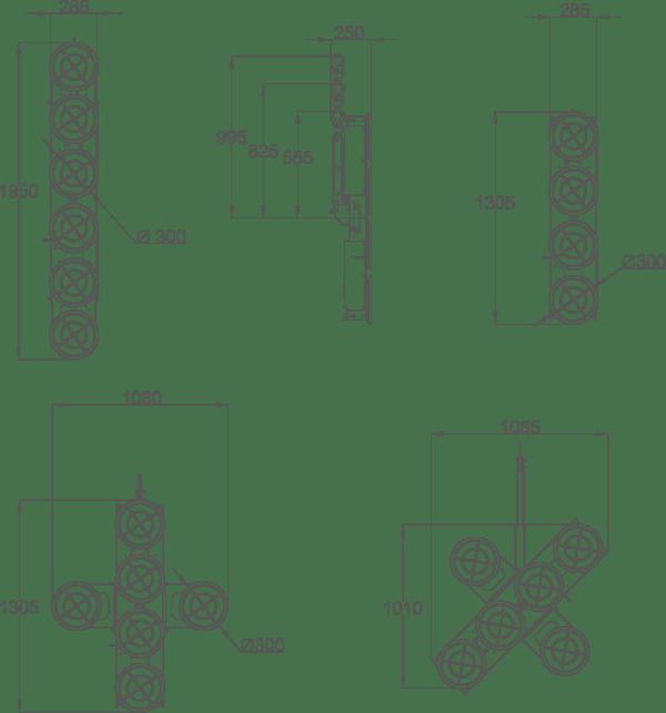 JVL450-dimensions