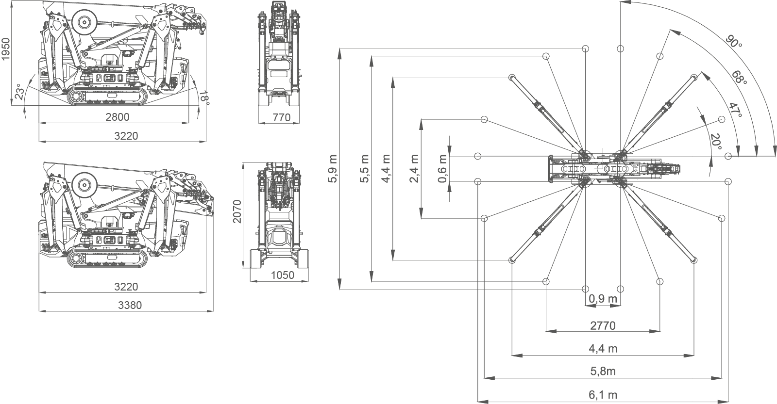 SPX532-dimensions